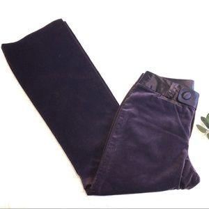 Banana republic Martin Fit Velvet slacks | size 6